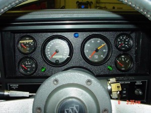 custom buick grand national gauge cluster