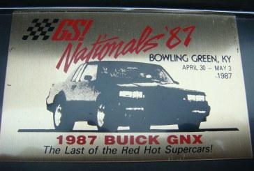 Buick Car Show Plaques