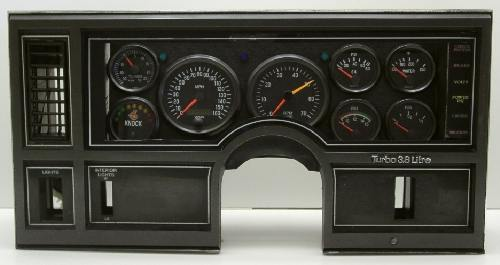SE Turbo Buick dash cluster