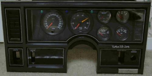 buick gnx style dash by SE Turbo