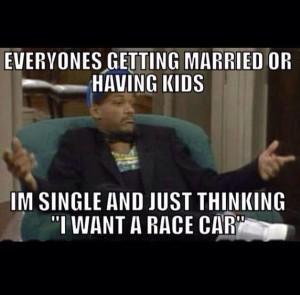 want a race car