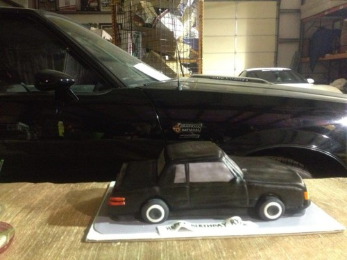 87 buick gn cake