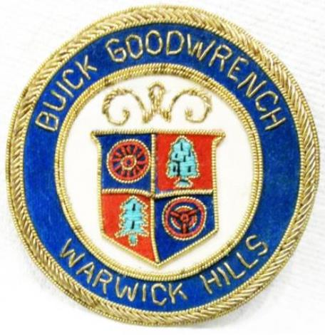 BUICK GOODWRENCH WARWICK HILLS BUICK OPEN GOLF TOURNMENT PATCH