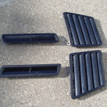 1986 pontiac trans am hood vents