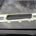 buick turbocharged hood vent template