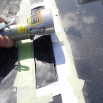 cutting holes for vents