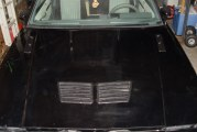Install Pontiac Trans Am Hood Vents on a Turbo Regal Hood