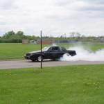 turbo buick burnout