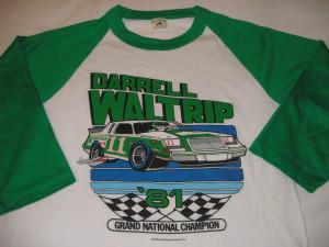 Darrell Waltrip Grand National Champion 1981 Shirt