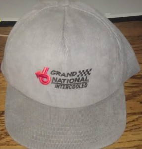 Gray Corduroy Buick Grand National Intercooled Cap
