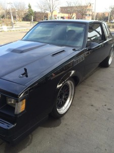 buick regal grand national hood louvers