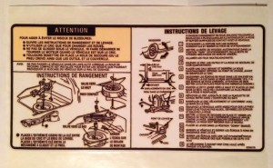 canadian buick grand national jack instructions