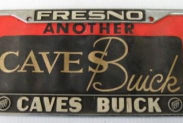 Buick Auto Dealer Plates Frames