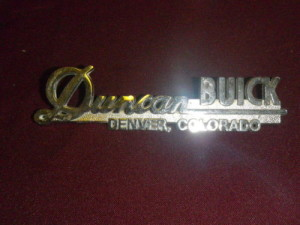 duncan buick dealership emblem