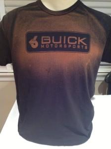 faded buick motorsport shirt