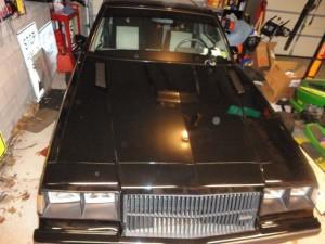 buick gnx hood vents
