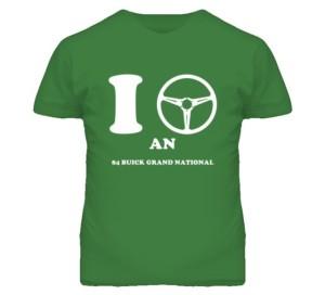 i drive a buick shirt