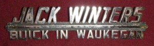 jack winters buick emblem