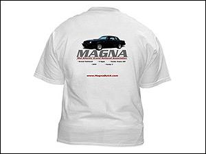 magna buick club tshirt