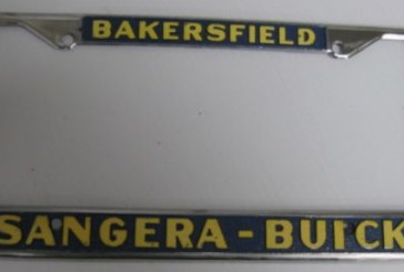 Buick Dealership License Plate Frames