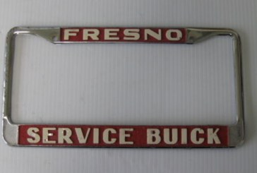 Buick Car Dealer License Plate Frames