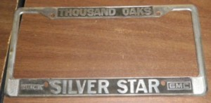 silver star buick dealer frame