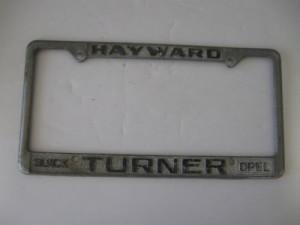 turner buick hayward frame