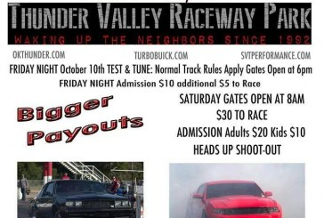 OK: 19th Annual Ford vs Buick Shootout Race October 11 2014