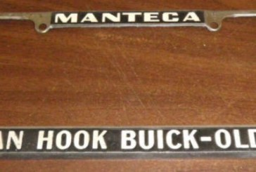 Buick Dealership License Plate Holder