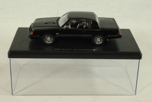 Auto World 1 43 1136 1985 Buick Grand National Black GN C9