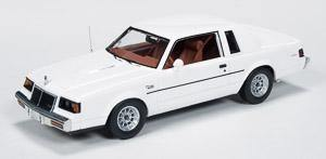 Auto World 1986 Buick Regal T-Type - White Body 1-43 Scale Resin
