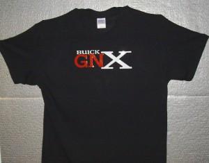 BUICK GNX BLACK T-SHIRT