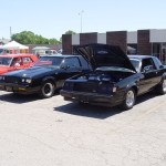 2 Buick GN's at Gratiot Cruise