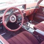 1984 hurst olds interior