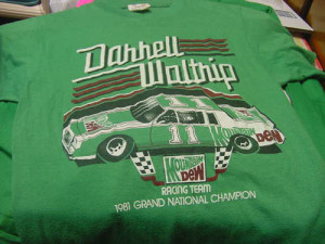 Darrell Waltrip Racing Team 1981 Grand National Champion t-shirt