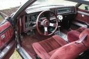 Turbo Regal Red Interiors