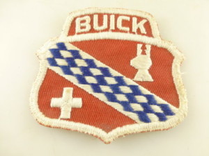 Vintage Embroidered Buick Patch