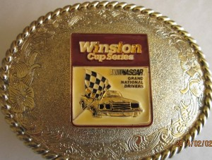 Winston Cup Series NASCAR Grand National Drivers 1979 Gold Belt Buckle