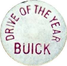 buick drive of the year button