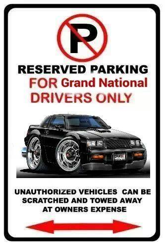 buick grand national drivers