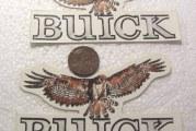 Happy The Hawk! Buick Hawk Decals