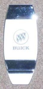 buick logo money clip