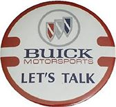 buick motorsports lets talk button