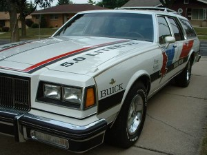 buick pace car station wagon 3