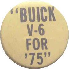 buick v6 button
