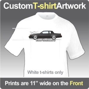 custom buick car shirts