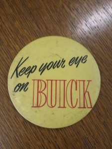keep your eye on buick button
