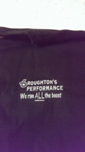 roughtons performance shirt