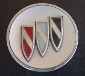 buick tri shield belt buckle