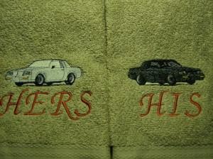 turbo buick towels
